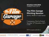 Invitation to The Film Garage Pitching Session